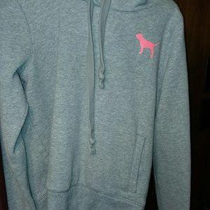 Vs pink pullover hoodie b2